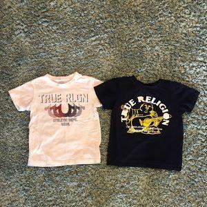 Boys Sz 7/8 True Religion T-Shirt Lot